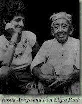Rosita Arvigo and Don Elijio Panti